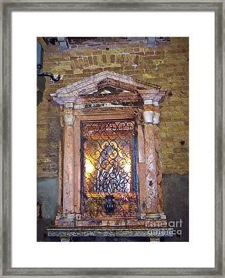 Lost In Venice 2 Framed Print by Debbie Fenelon