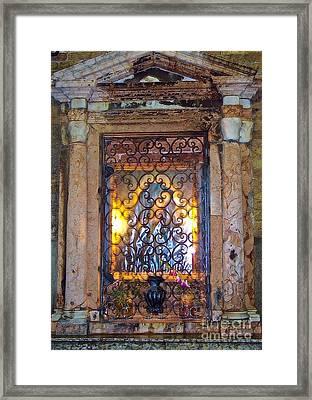 Lost In Venice  Framed Print by Debbie Fenelon