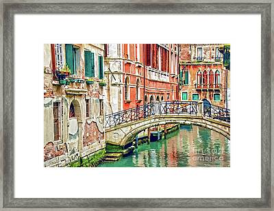 Lost In Venice Framed Print