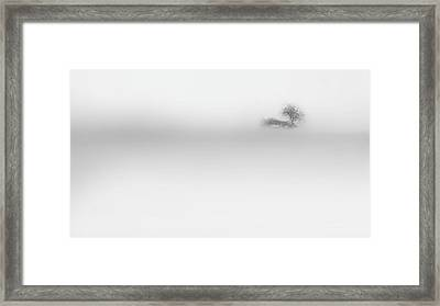 Framed Print featuring the photograph Lost Island by Bill Wakeley