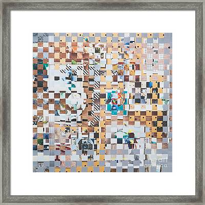Framed Print featuring the mixed media Lost by Jan Bickerton