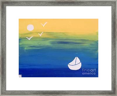 Happily Lost Framed Print by Jilian Cramb - AMothersFineArt