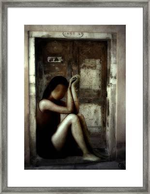 Lost Key Framed Print by Gun Legler