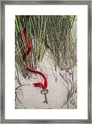 Lost Key Framed Print by Joana Kruse