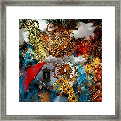 Lost Keys To Paradise Framed Print by Ally  White