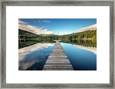 Lost Lake Dream Whistler Framed Print by Pierre Leclerc Photography
