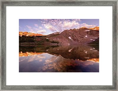 Lost Lake Sunrise Framed Print