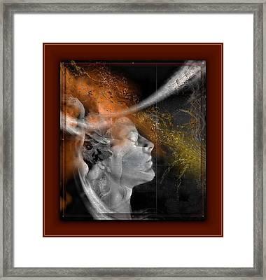 Lost Love Framed Print by Freddy Kirsheh