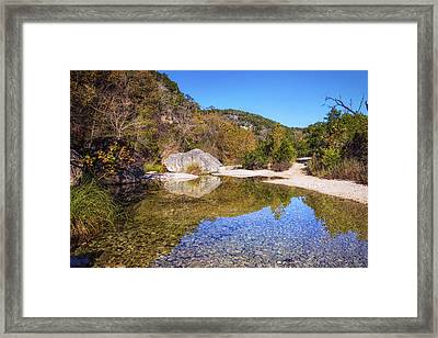 Lost Maples State Natural Area II Framed Print