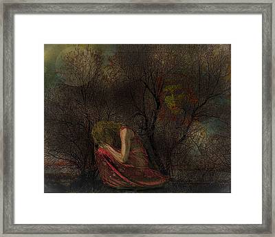 Lost Framed Print by Mimulux patricia no No