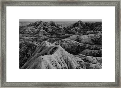 Lost On Mars Framed Print by Wesley Maddox
