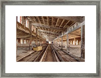 Lost Places Framed Print by Christian Hallweger