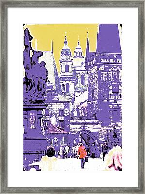 Lost Prague Framed Print by Ira Shander