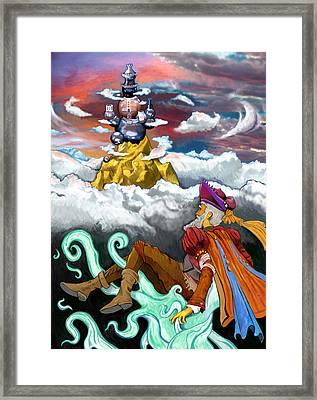 Lost Princess Framed Print