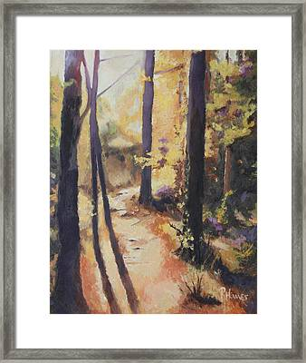 Framed Print featuring the painting Lost by Rachel Hames