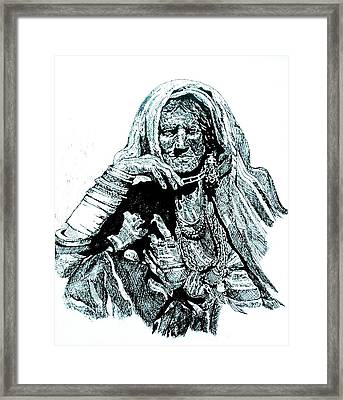 Lost Framed Print by Ramneek Narang