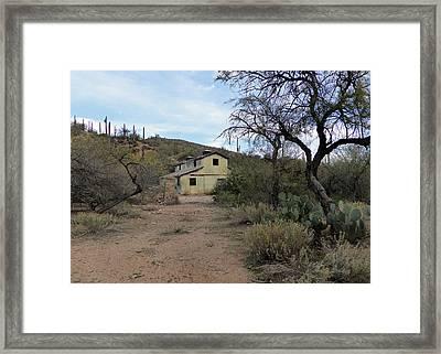 Lost Ranch Framed Print
