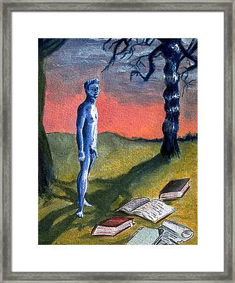 Lost Framed Print by Rene Capone