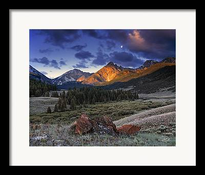 Serenity Photographs Framed Prints