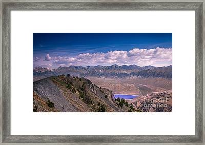 Lost River Range Framed Print by Robert Bales