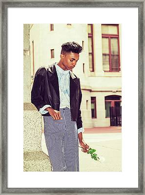 Lost Rose Framed Print