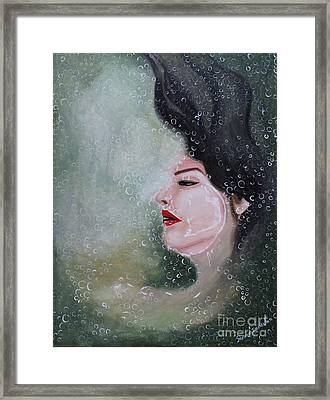 Lost  Framed Print by Saranya Haridasan