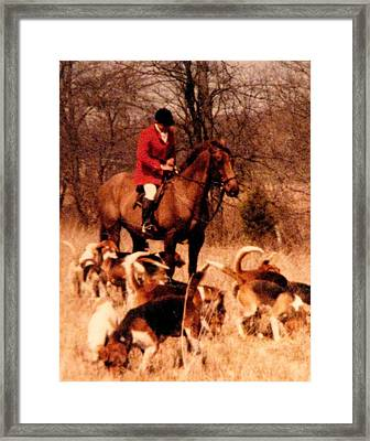 Lost Scent Framed Print by Angela Davies