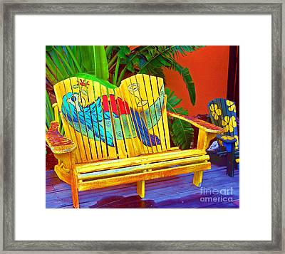 Lost Shaker Of Salt 2 Framed Print by Debbi Granruth