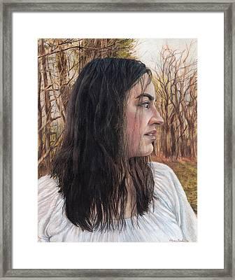Lost Framed Print by Shana Rowe Jackson