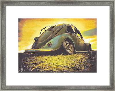 Lost Framed Print by Sharon Poulton