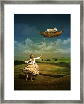 Lost Sheep Framed Print
