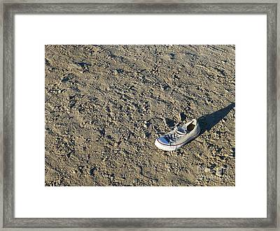 Lost Sole Framed Print by Millie Reeve