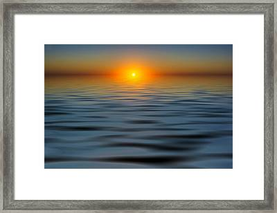 Lost Sun Framed Print