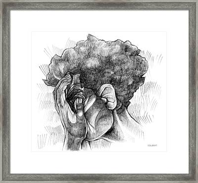 Lost Thoughts Framed Print by Michael Colbert