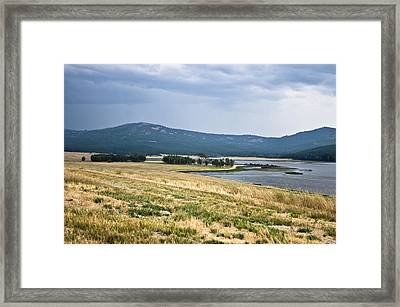 Lost Trail Wildlife Refuge 3 Framed Print