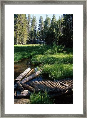 Lost Trout Creek Framed Print by Soli Deo Gloria Wilderness And Wildlife Photography