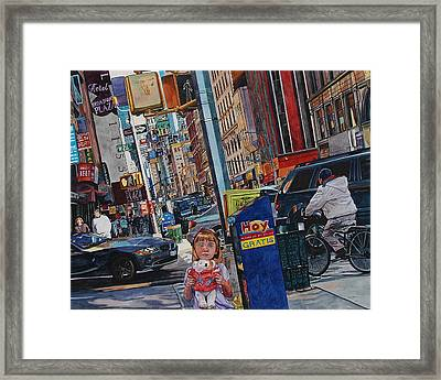 Lost Framed Print by Valerie Patterson