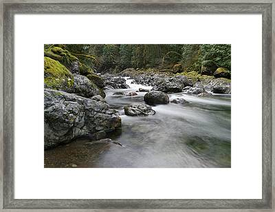Lost Within The Peace Of It All Framed Print by Jeff Swan