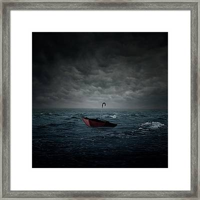 Lost Framed Print by Zoltan Toth