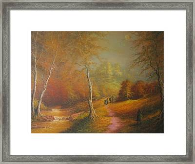 Lothlorien Framed Print by Joe  Gilronan