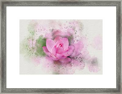 Lotus 7 Framed Print