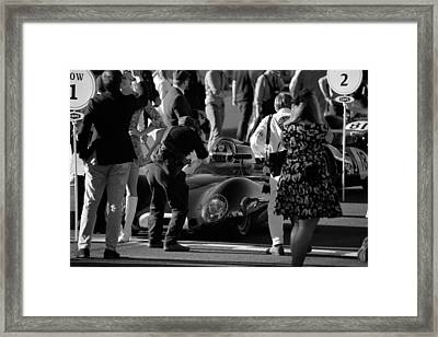Lotus Climax 15 Framed Print by Robert Phelan