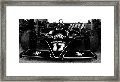 Lotus Cosworth 87b Framed Print
