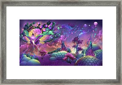 Lotus Dome Culture Framed Print by George Atherton