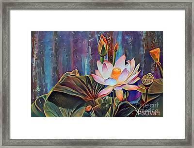 Lotus Dream 2 Framed Print