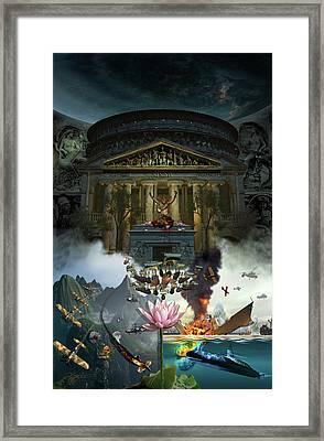 Lotus Eaters Framed Print