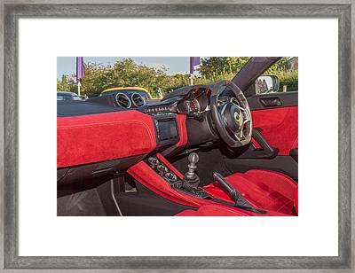 Lotus Evora 400 Framed Print by Keith Nisbet