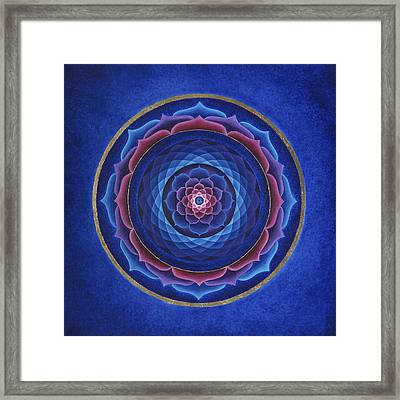 Lotus Eye Framed Print