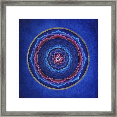 Lotus Eye Framed Print