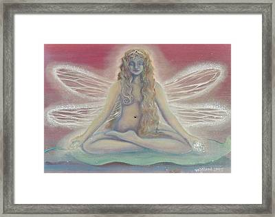 Lotus Faerie Princess Framed Print